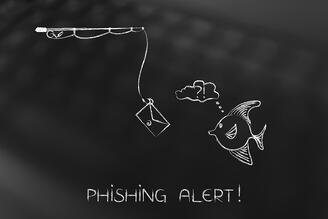 Believe it or not, phishing is on the the rise with 76% or organizations reporting they experienced at least one phishing attack in 2017.