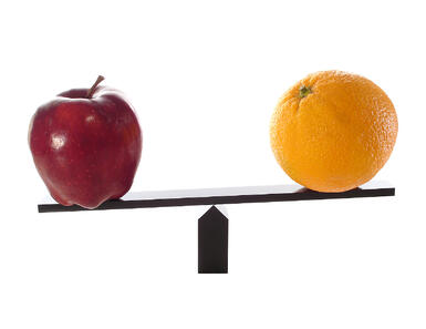 Comparing service providers can be like comparing apples and oranges (and grapes, and peaches...) - no two are exactly alike. Take the time to find a provider that enmeshes with your company and you'll receive the best service.