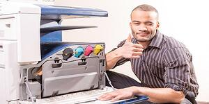 We handle the details required to keep your copiers and printers up and running - so you don't have to.