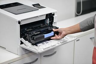 If you have issues printing, try running a print-head cleaning mode each time you install new cartridges