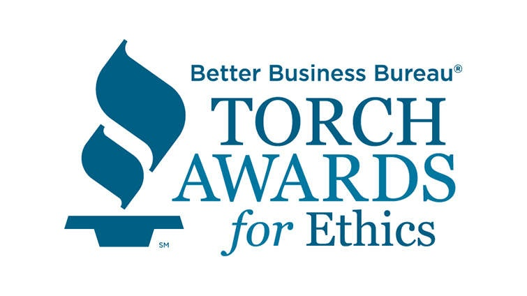 Better Business Bureau 2018 Torch Awards for Ethics Finalist - Coordinated Business Systems
