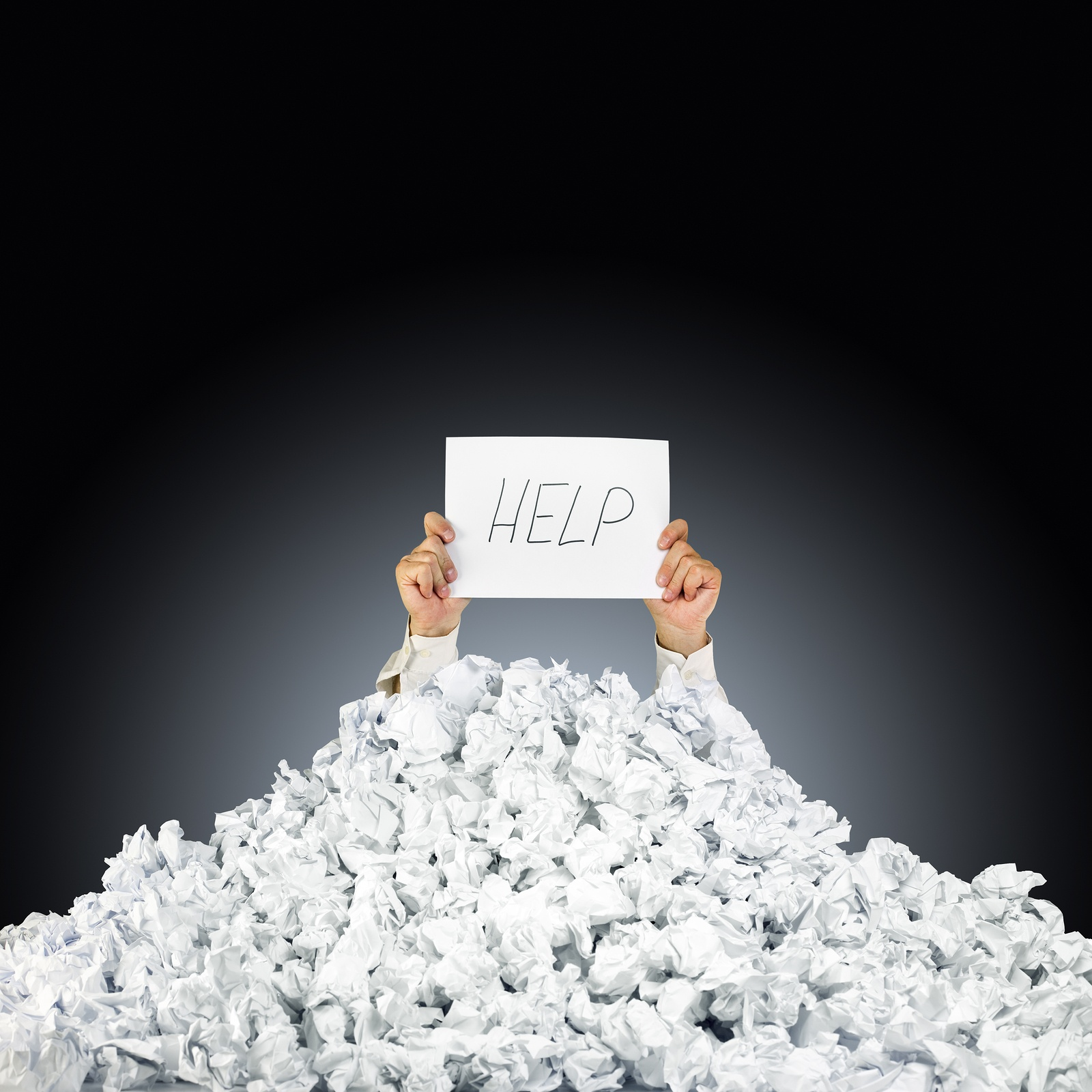 Is your office drowning in paperwork? Document Management may be the light at the end of the tunnel..jpg